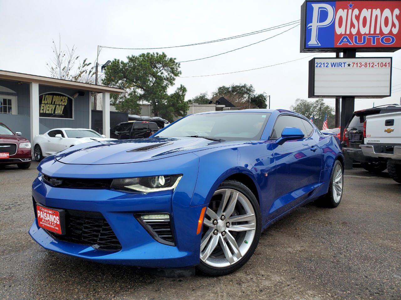 Chevrolet Camaro 1SS Coupe 2016