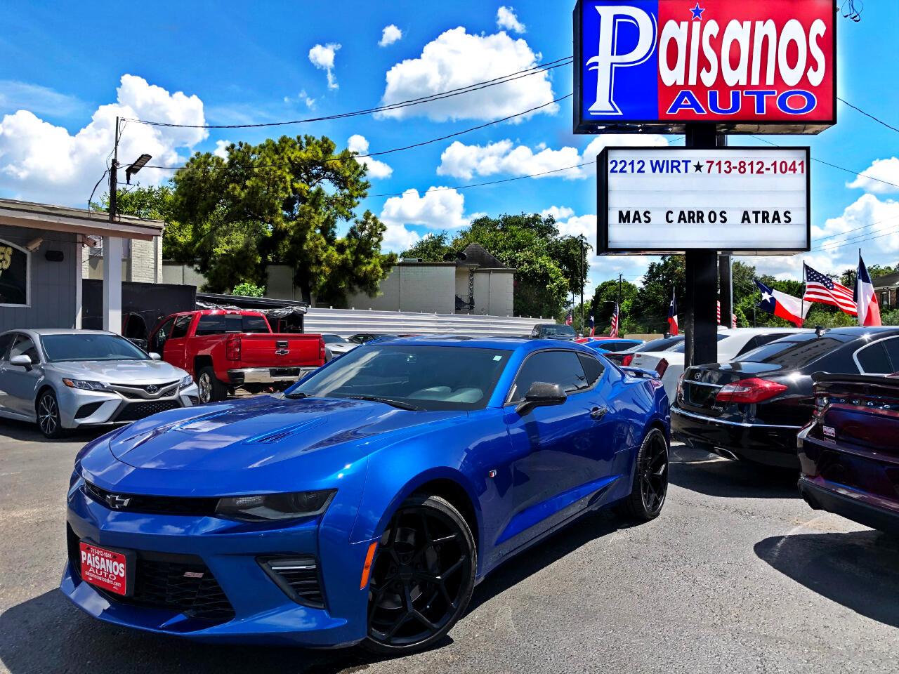 Chevrolet Camaro 1SS Coupe 2016