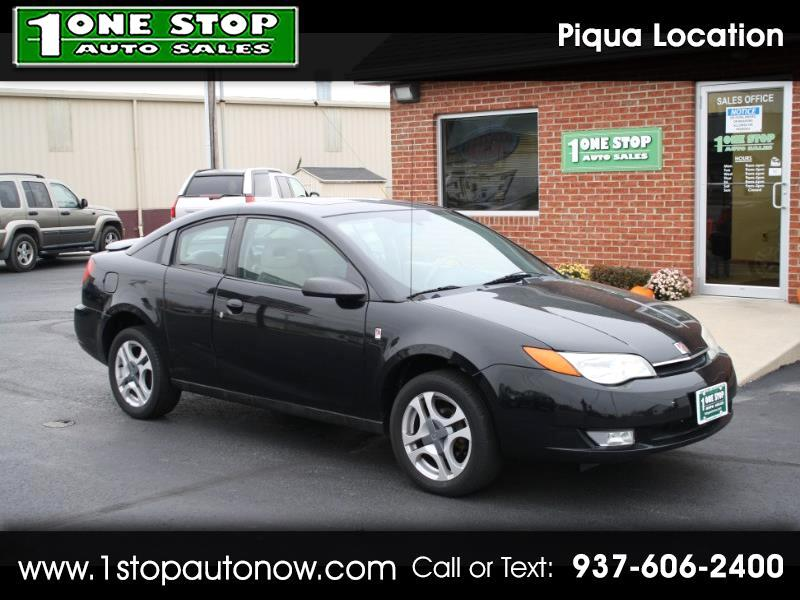 2003 Saturn ION ION 3 Quad Cpe Auto