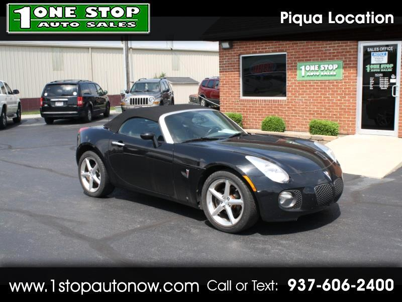 2008 Pontiac Solstice 2dr Conv GXP