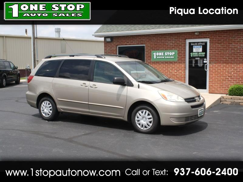 2005 Toyota Sienna CE FWD Cargo Van (Natl)