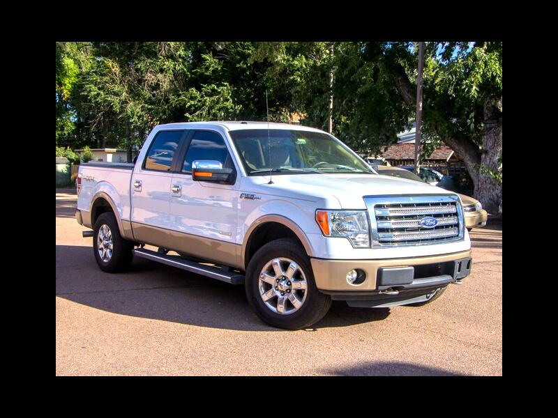 "Ford F-150 4WD SuperCrew 145"" Lariat 2013"