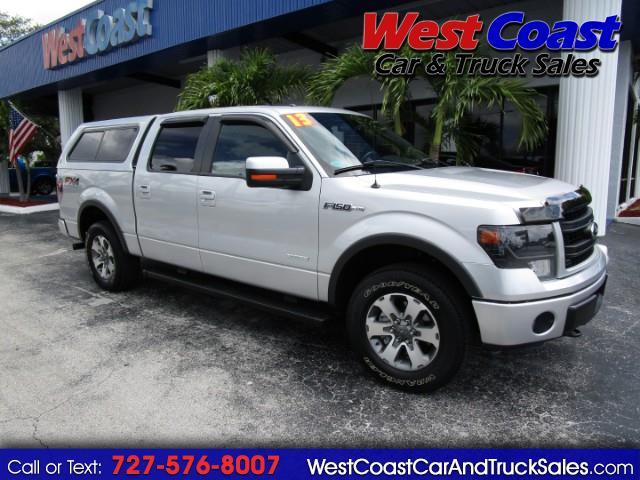 "2013 Ford F-150 4WD SuperCrew 139"" FX4 Truck"