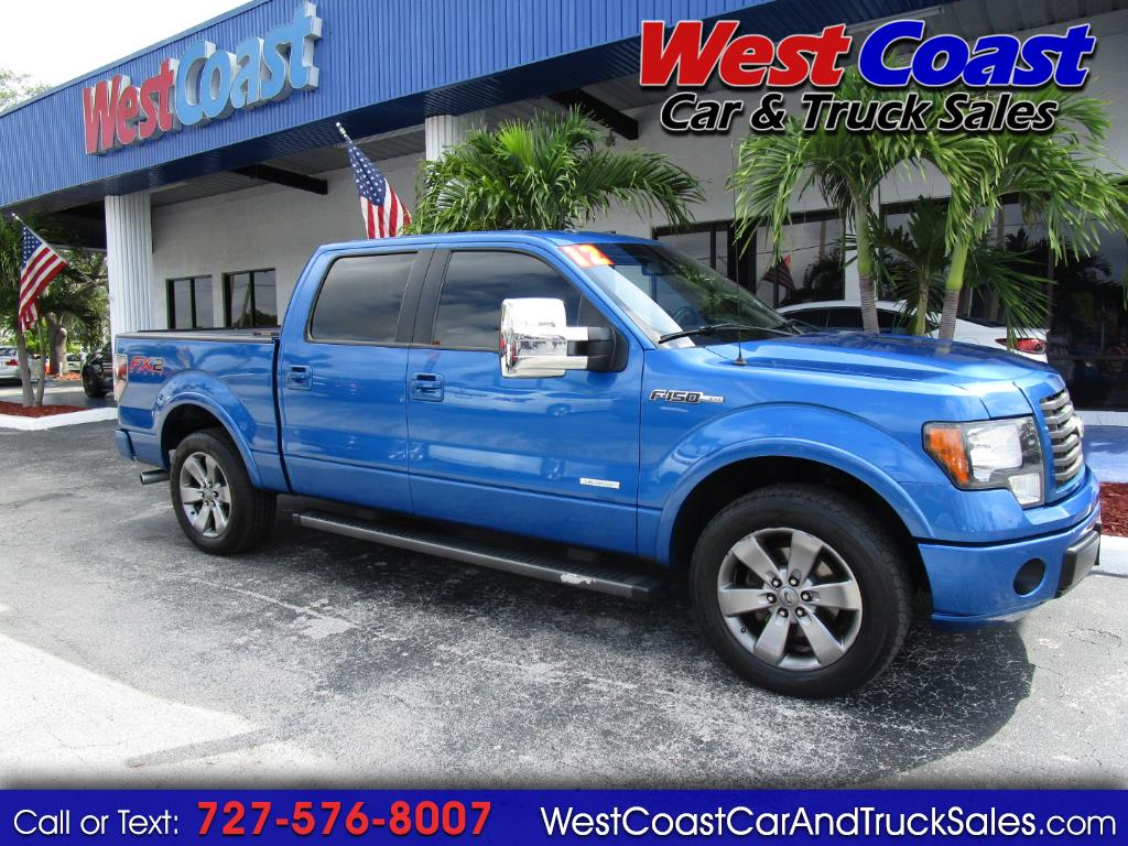 "2012 Ford F-150 2WD SuperCrew 139"" FX2"