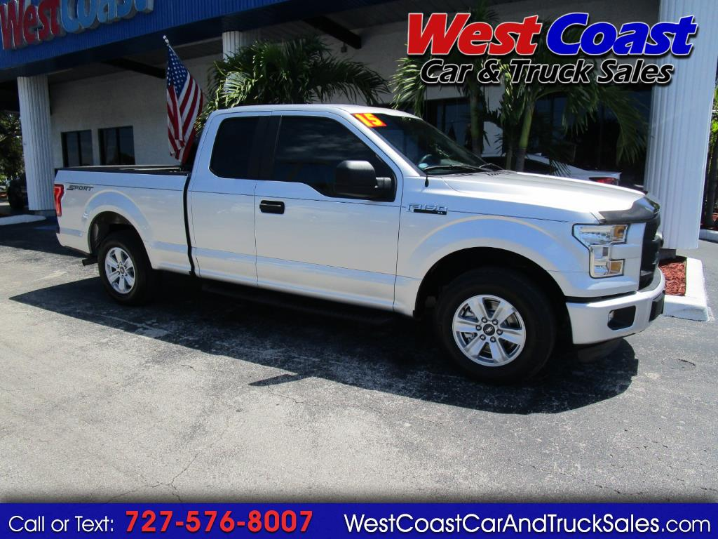2015 Ford F-150 2wd SuperCab XL Sport
