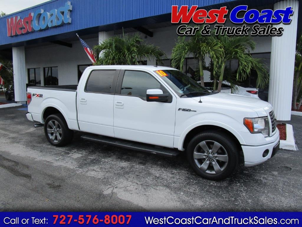 "2010 Ford F-150 2WD SuperCrew 150"" FX2"