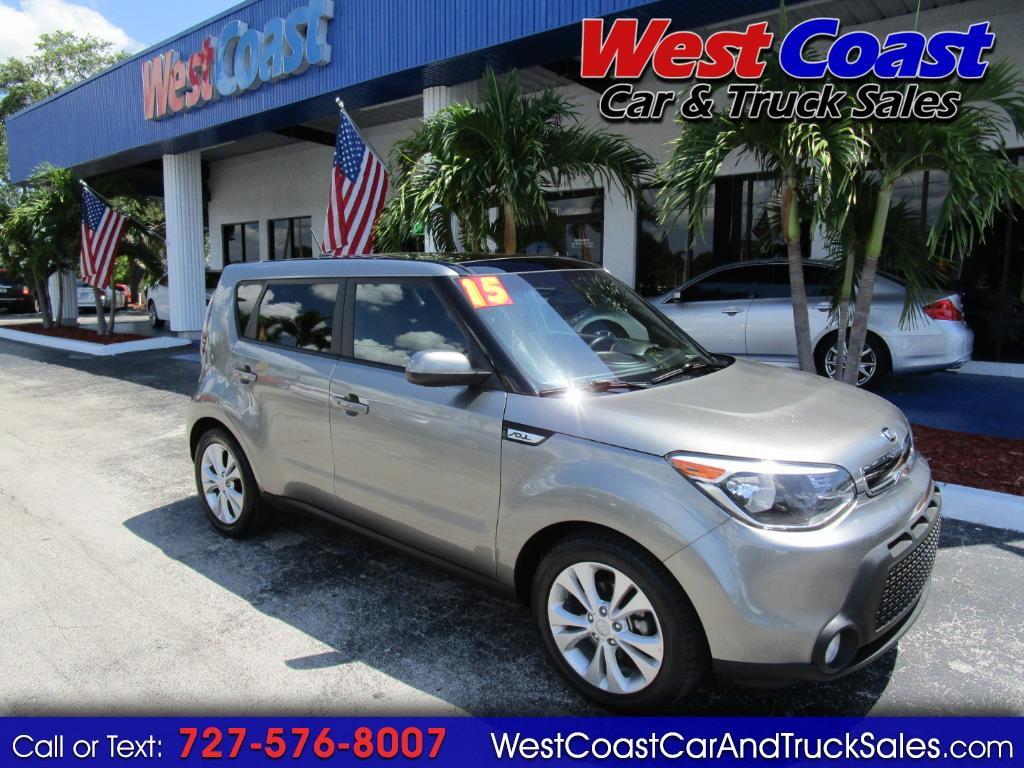 2015 Kia Soul + Leather, Navigation, Panoramic Sunroof