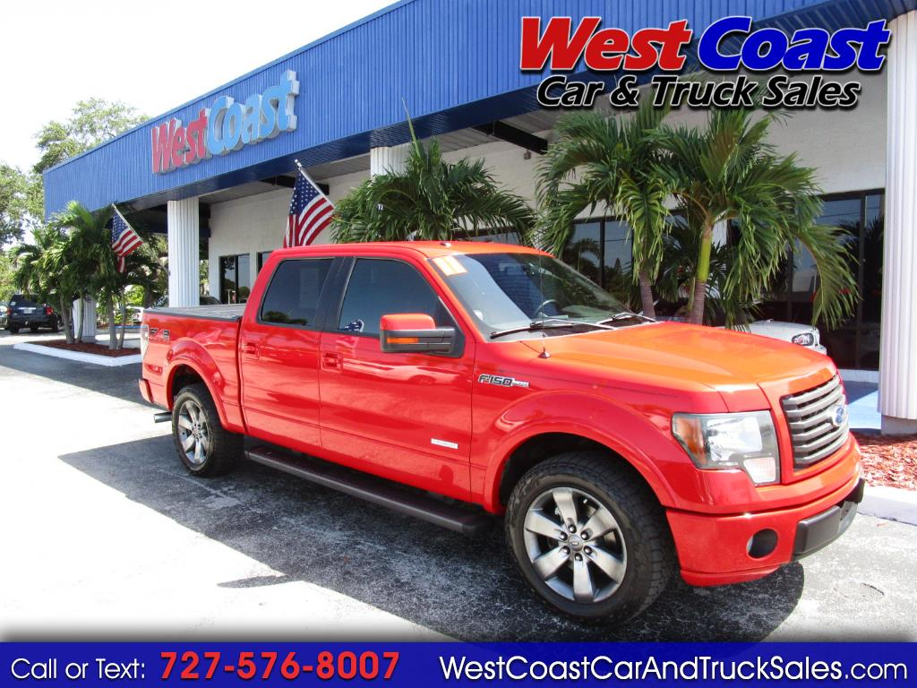 2011 Ford F-150 SUPERCREW FX2 ECO BOOST LEATHER