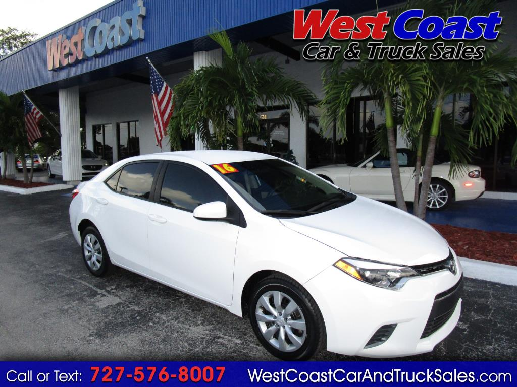Used Cars For Sale Pinellas Park Fl 33781 West Coast Car Truck 2013 Chrysler 200 Fuel Filter 2016 Toyota Corolla 4dr Sdn Auto Le Natl