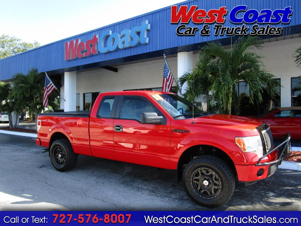 "2013 Ford F-150 2WD SuperCab 133"" STX"