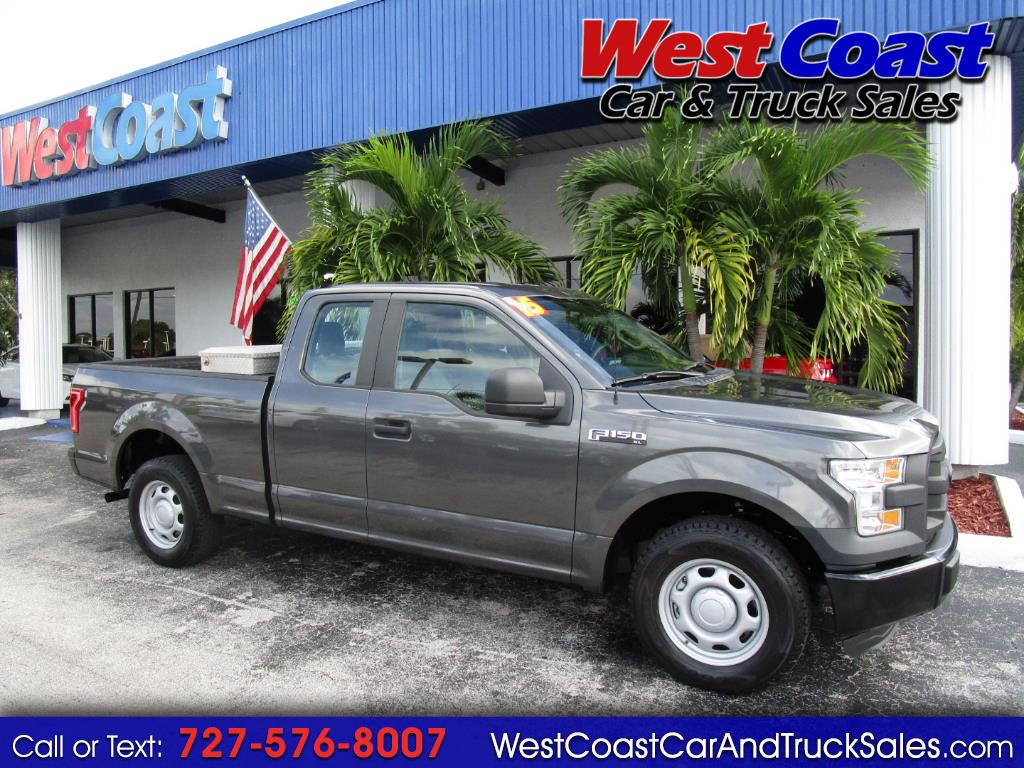 "2015 Ford F-150 Supercab 139"" XL"