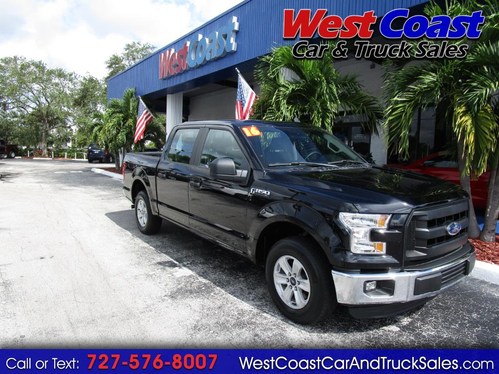 2016 Ford F-150 SuperCrew Crew Cab XL
