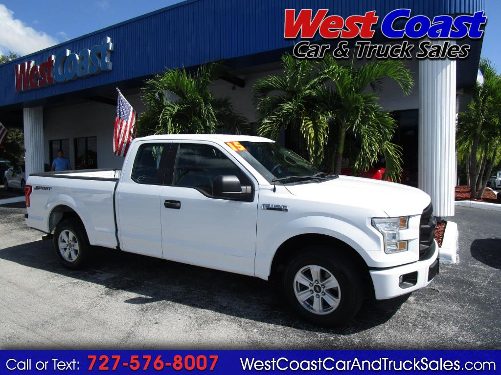 2015 Ford F-150 SuperCab XL Sport