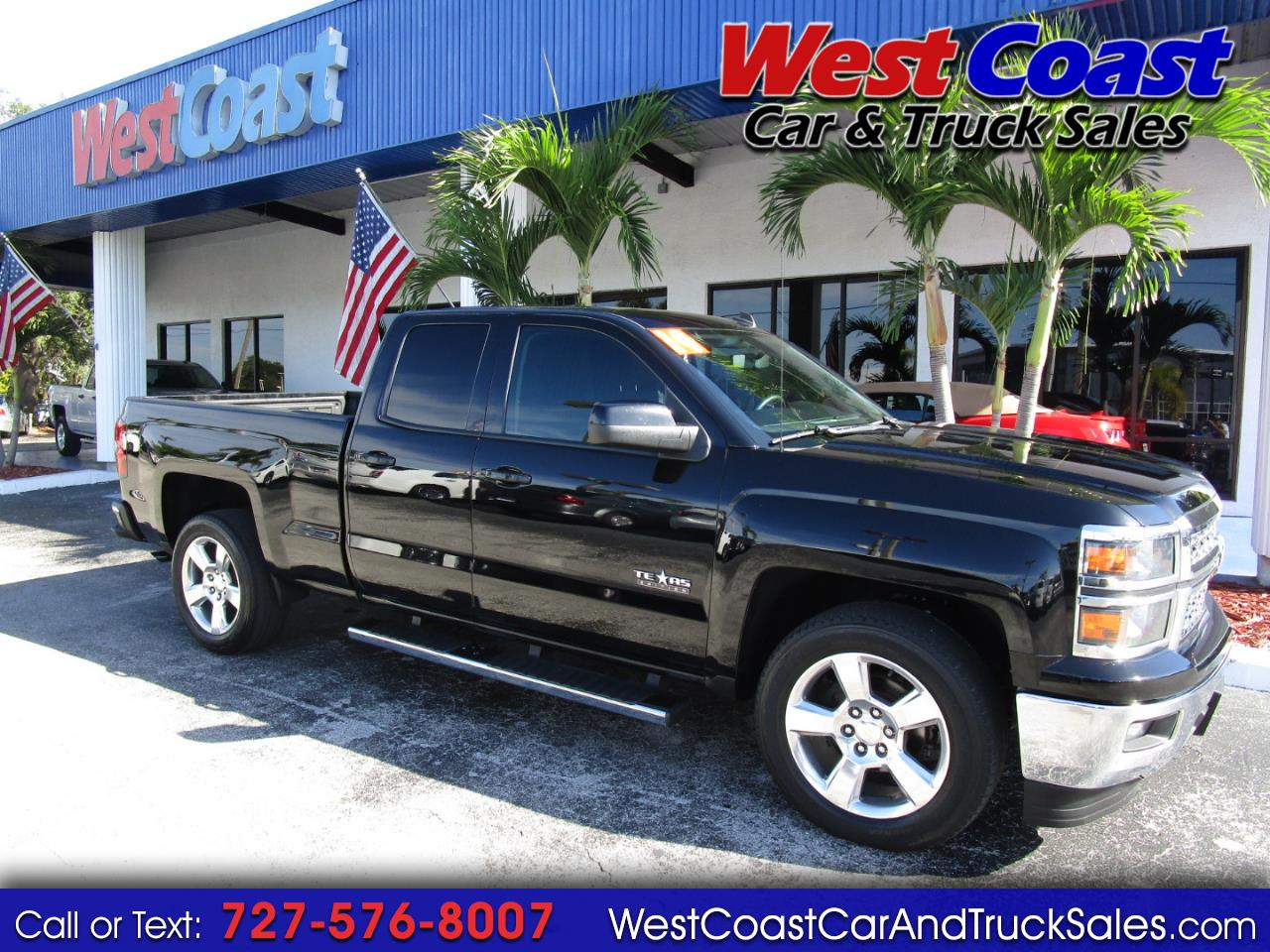 2014 Chevrolet Silverado 1500 LT Double Cab Texas Edition 2WD