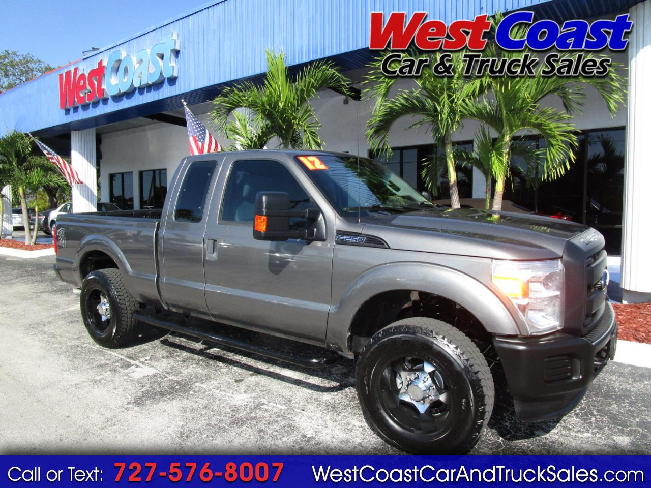 2012 Ford F-250 SuperCab 4WD