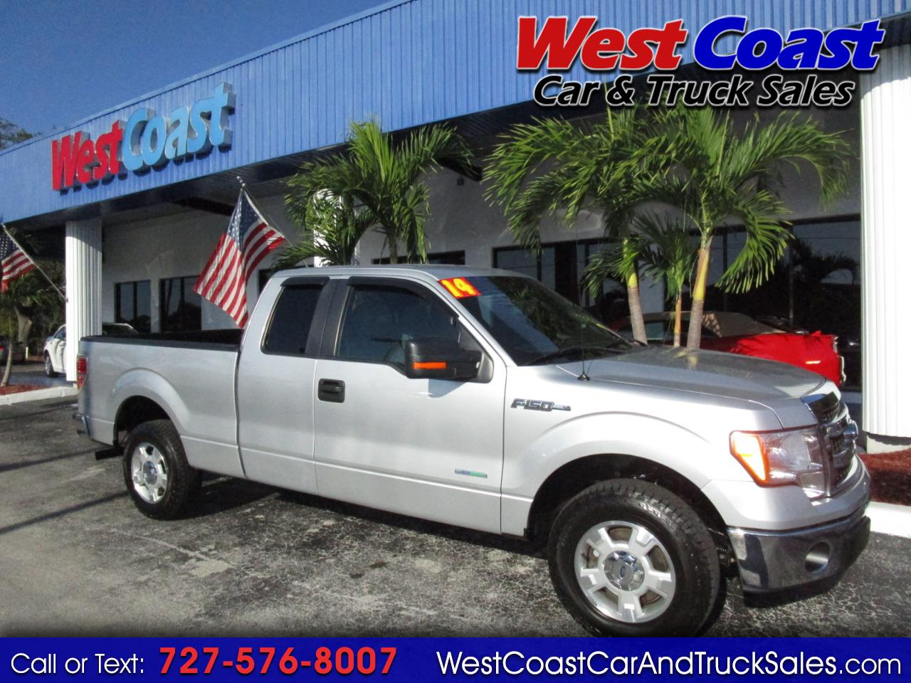 "2014 Ford F-150 2WD Supercab 133"" XLT"