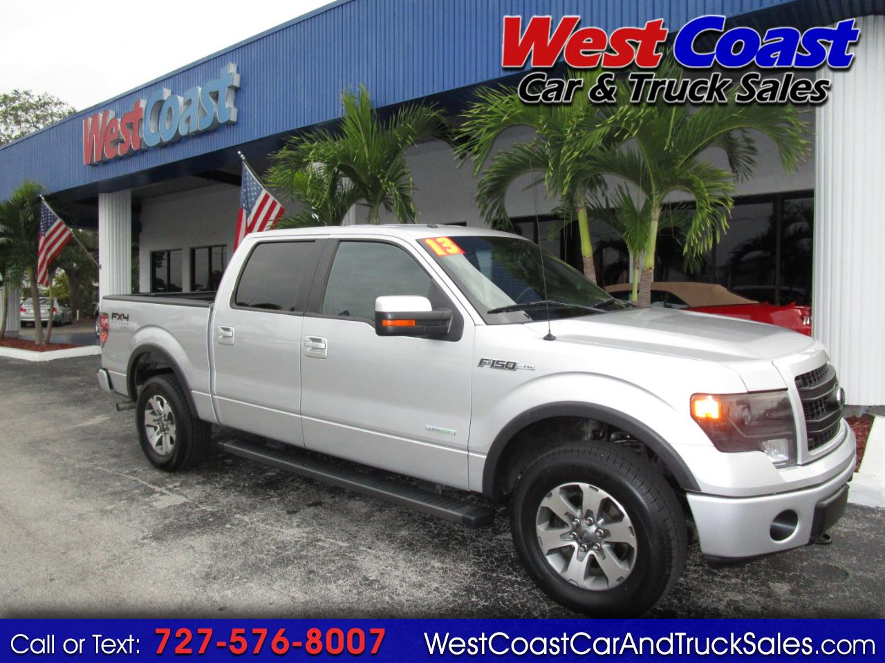 2013 Ford F-150 4WD SuperCrew FX4