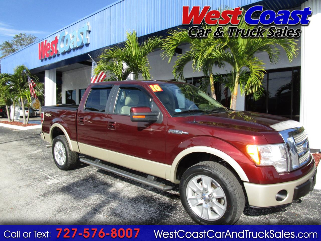 2010 Ford F-150 SuperCrew Lariat 4x4