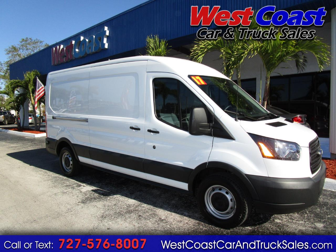 2017 Ford Transit T-150 Medium Roof Cargo
