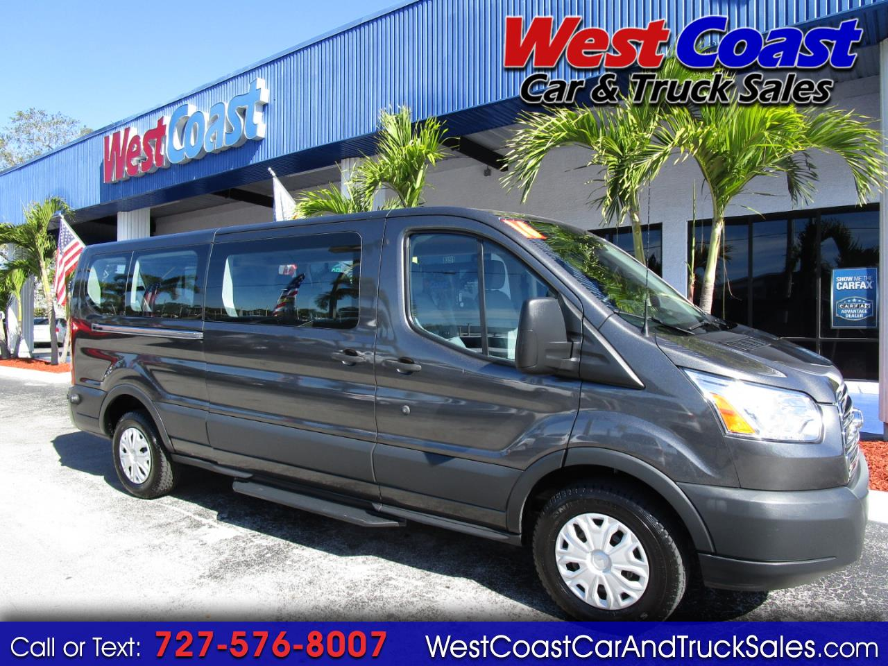 2016 Ford Transit T-350 13 Passenger Low Roof XLT