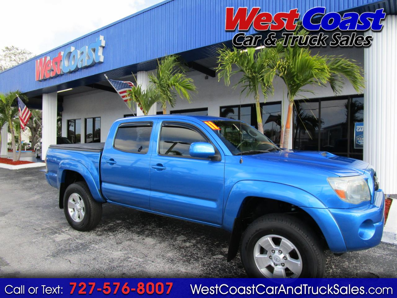2011 Toyota Tacoma 2WD Double Cab V6 AT PreRunner (Natl)