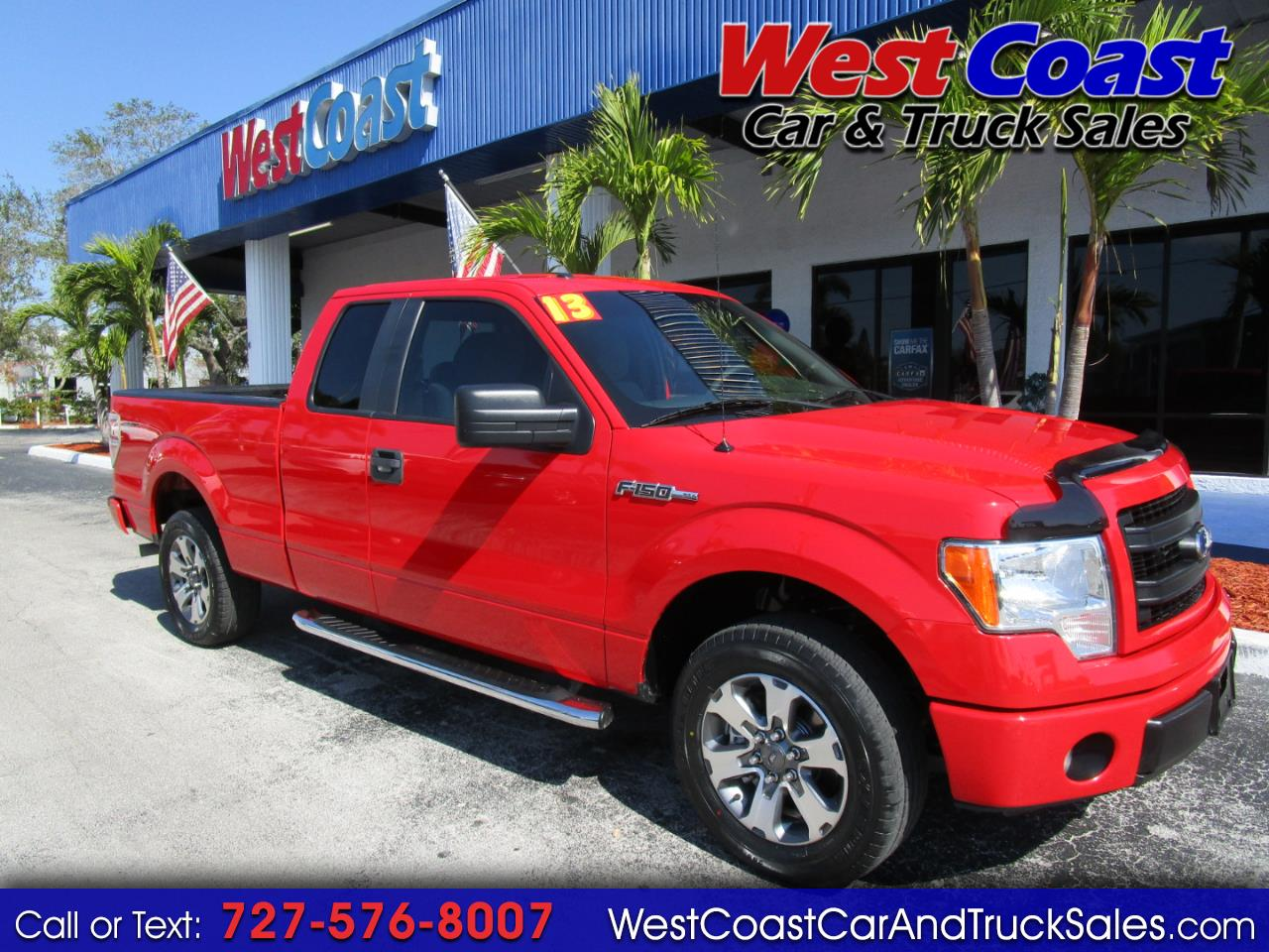 2013 Ford F-150 SuperCab STX 5.0L V-8