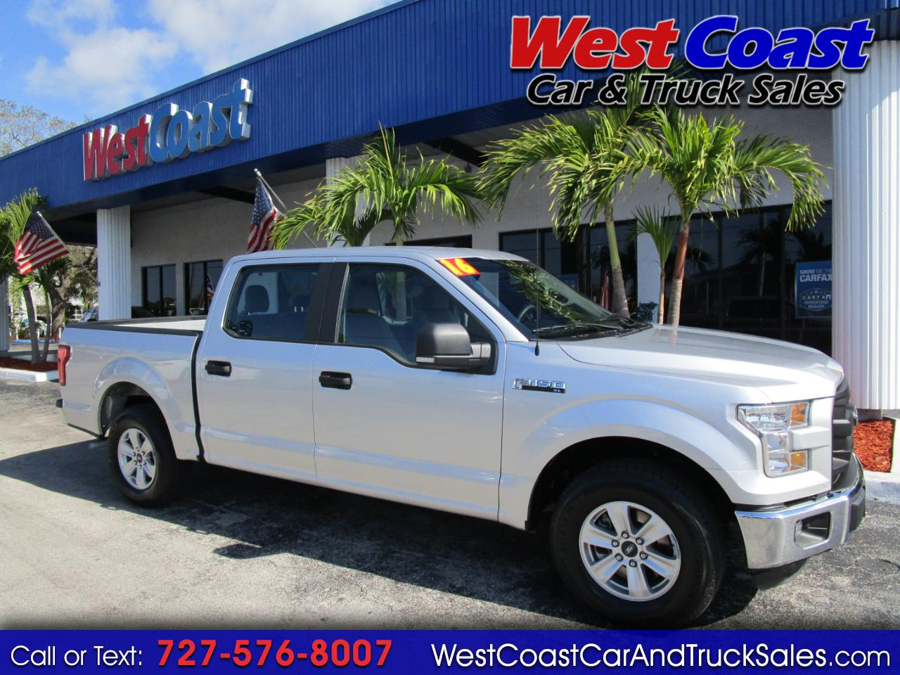 2016 Ford F-150 Crew Cab XL