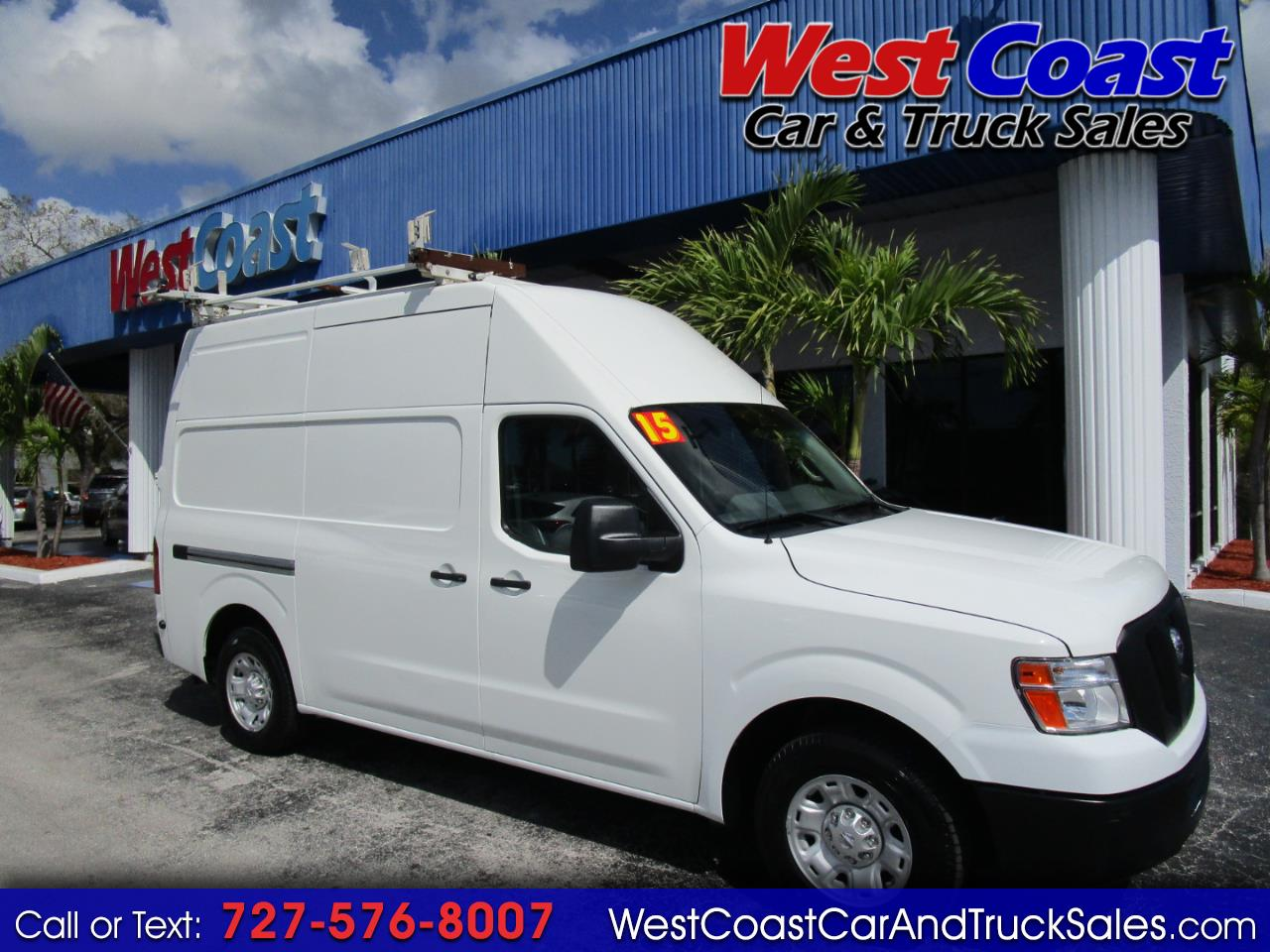 2015 Nissan NV 2500 S High Roof Cargo