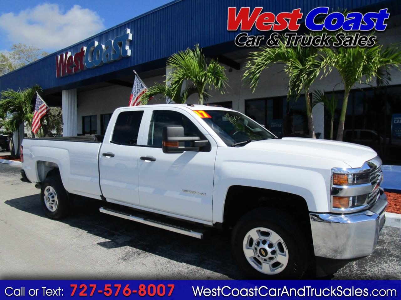 2017 Chevrolet Silverado 2500 Double Cab LS Long Bed