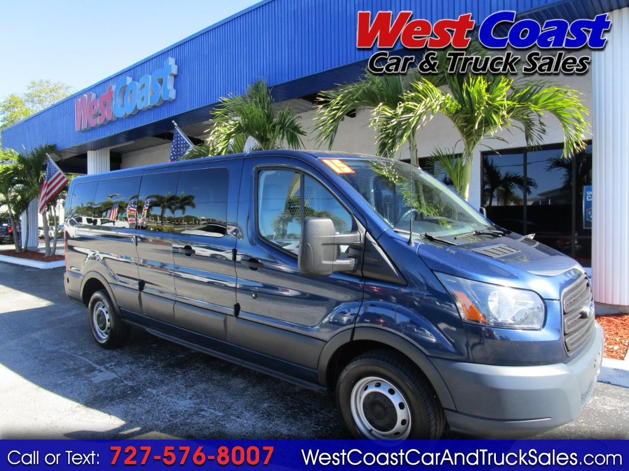 2015 Ford Transit T-250 Cargo W/Windows