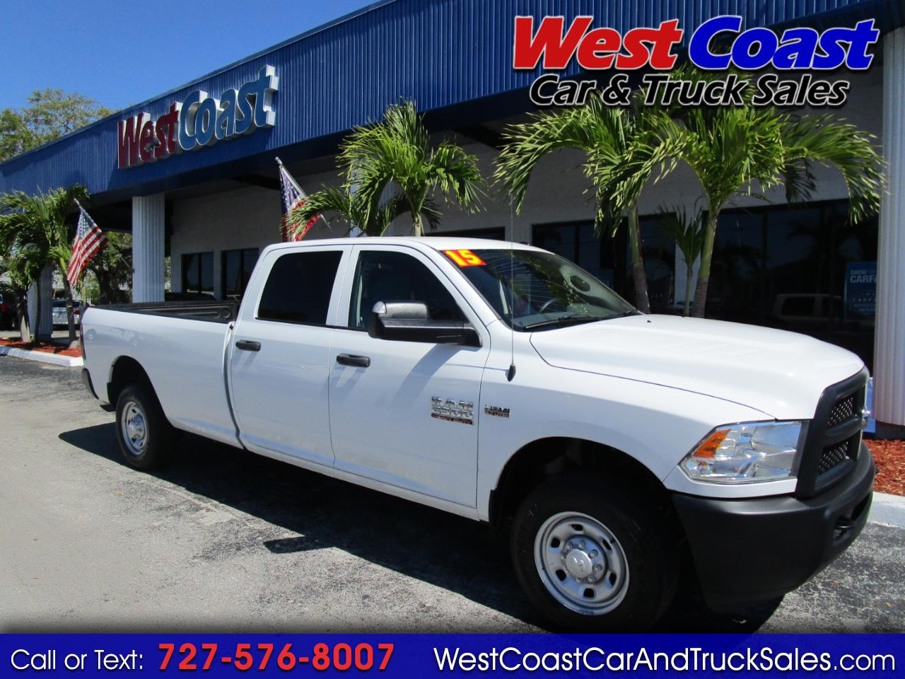 2015 RAM 2500 Crew Cab Long Bed ST
