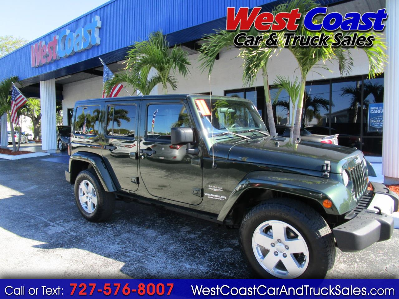 2011 Jeep Wrangler Sahara Unlimited 4x4