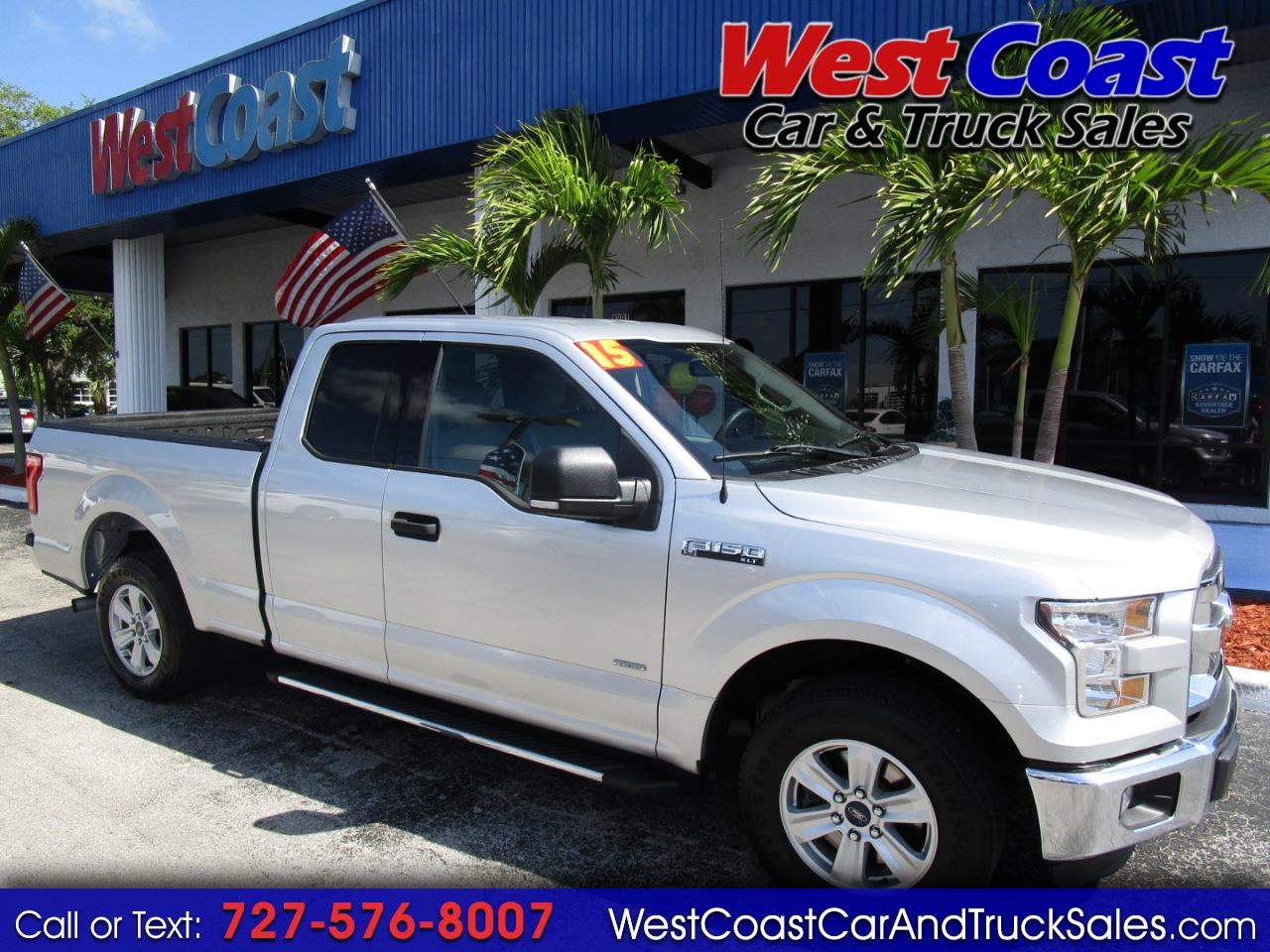 2015 Ford F-150 Supercab XLT EcoBoost