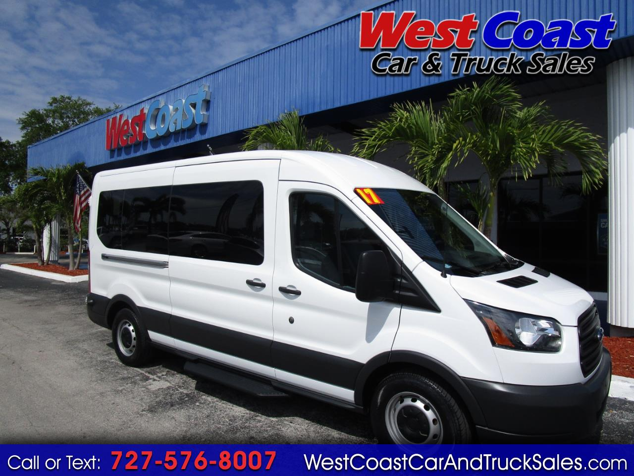 2017 Ford Transit T-350 Medium Roof 15 Passenger