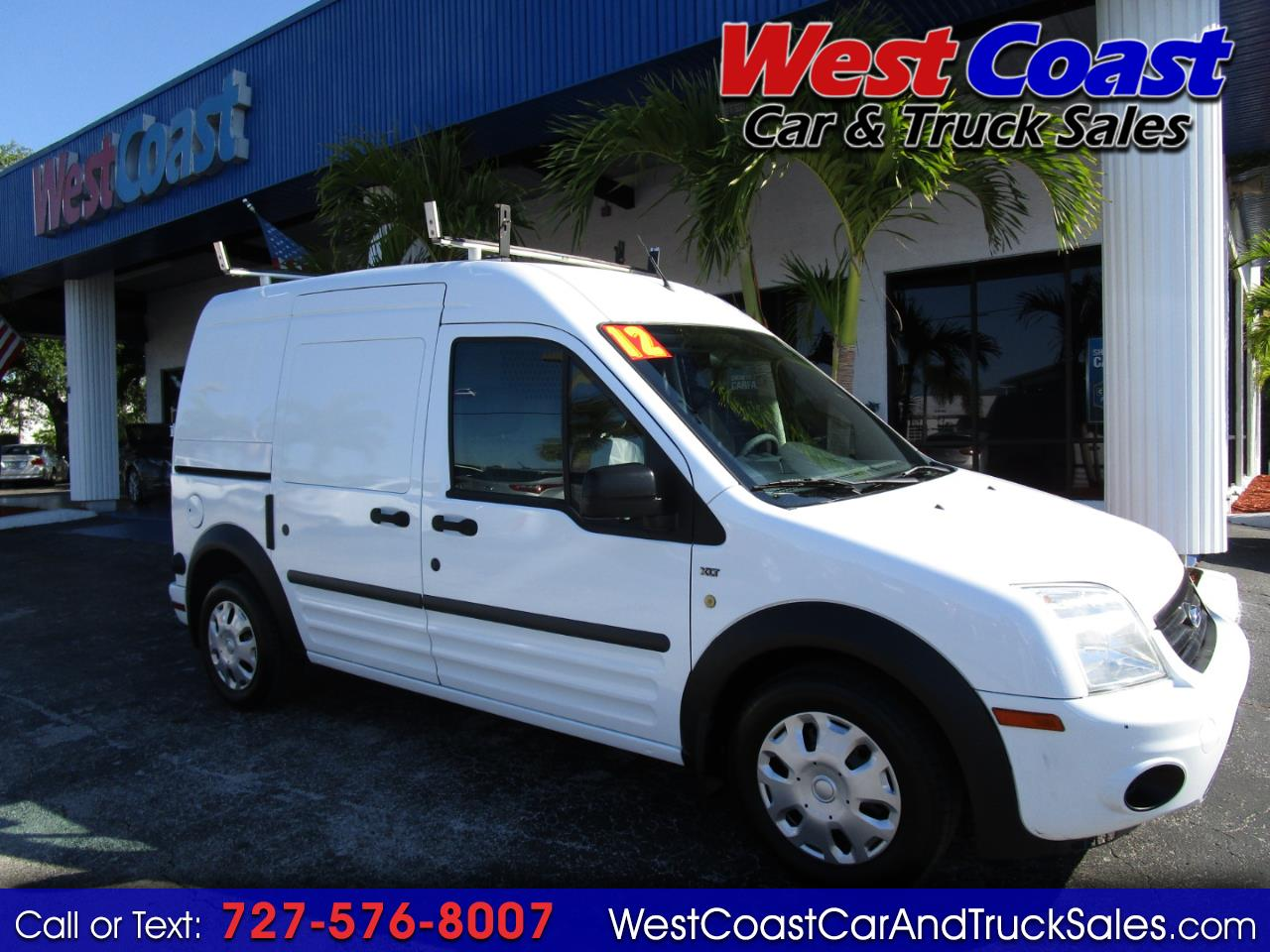 "2012 Ford Transit Connect 114.6"" XLT w/rear door privacy glass"