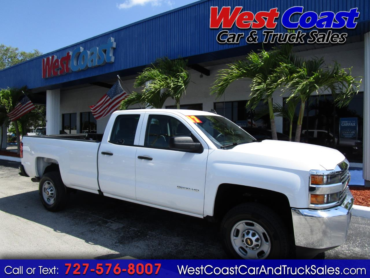 2017 Chevrolet Silverado 2500 Crew Cab HD Long Bed