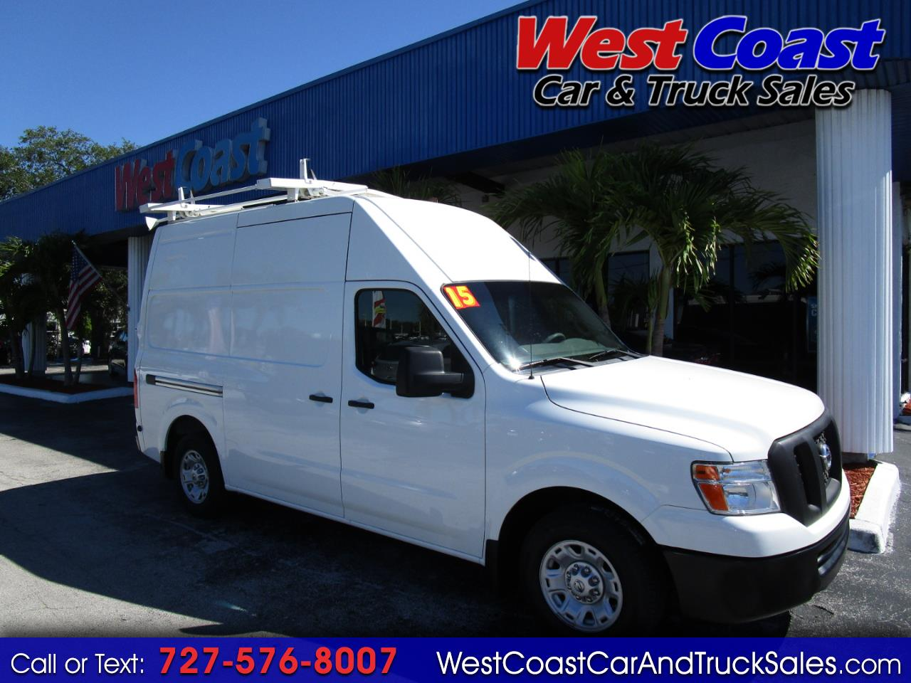 2015 Nissan NV 2500 HD Highroof S Cargo
