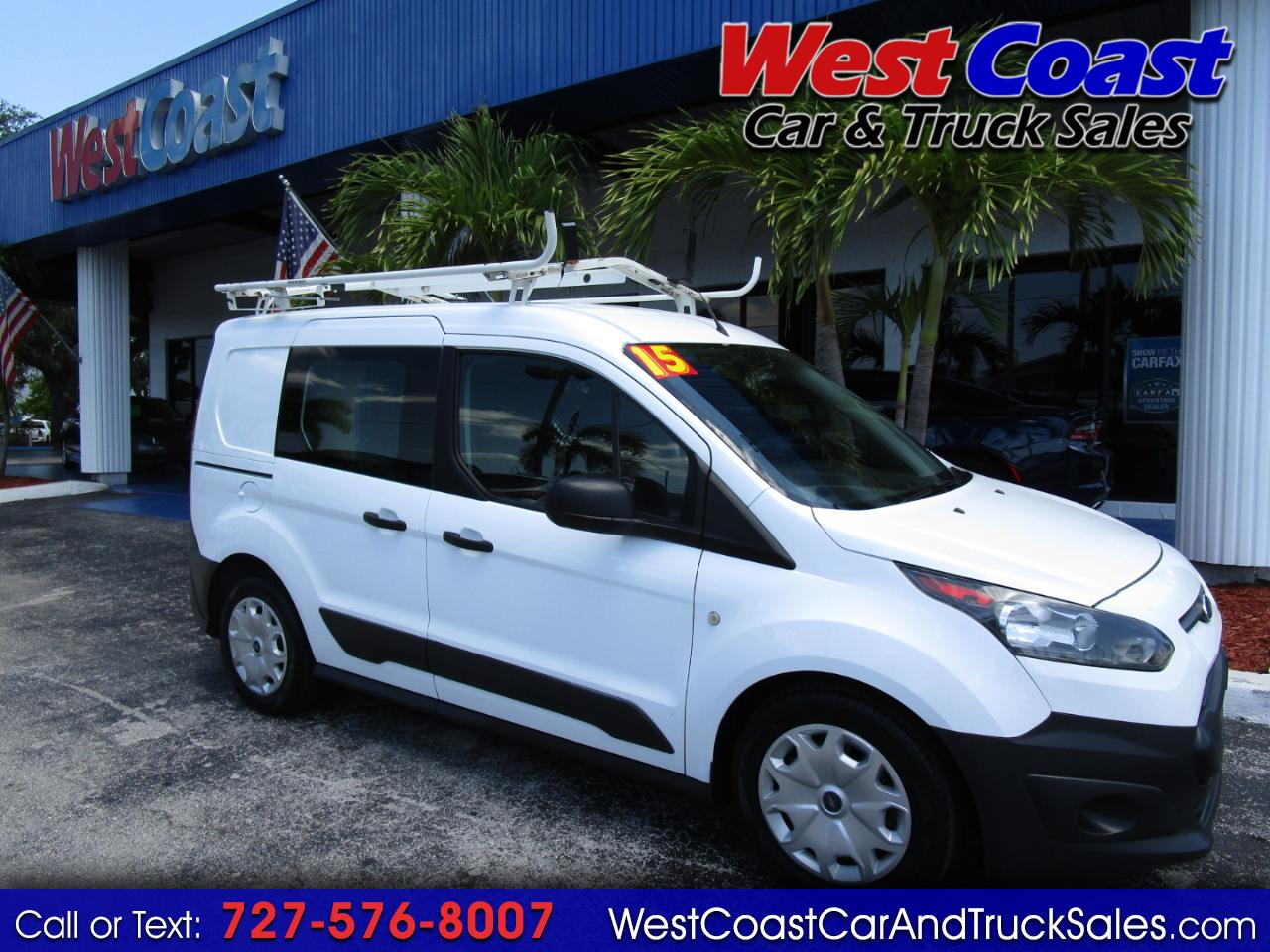 """2015 Ford Transit Connect 114.6"""" XL w/side & rear door privacy glass"""