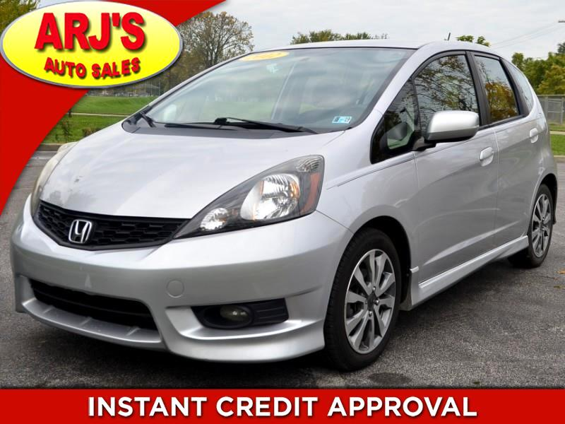 2012 Honda Fit Sport 5-Speed MT