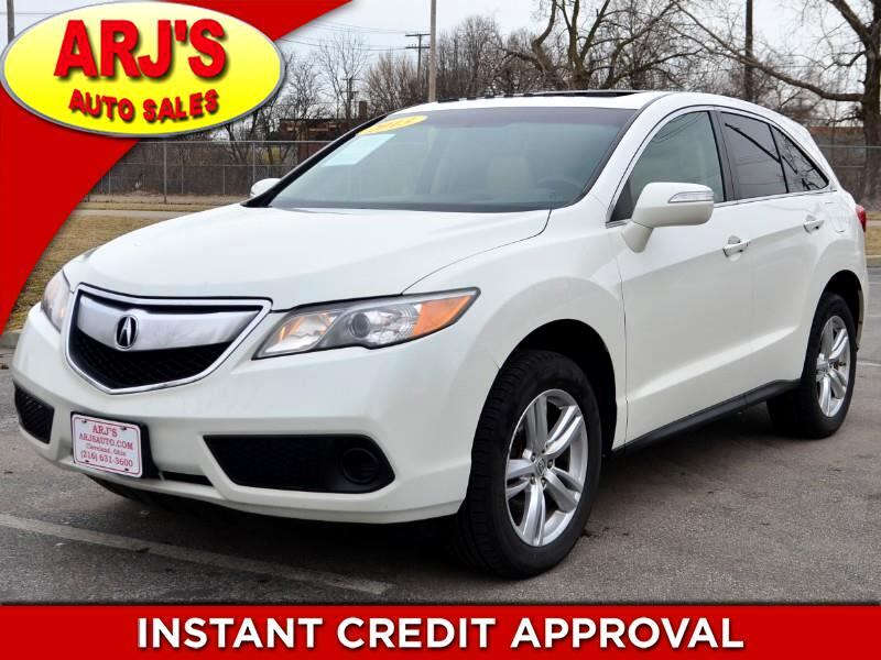 2013 Acura RDX 6-Spd AT AWD