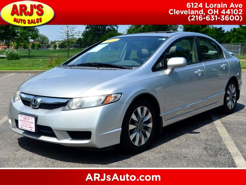 2009 Honda Civic EX Sedan 5-Speed AT