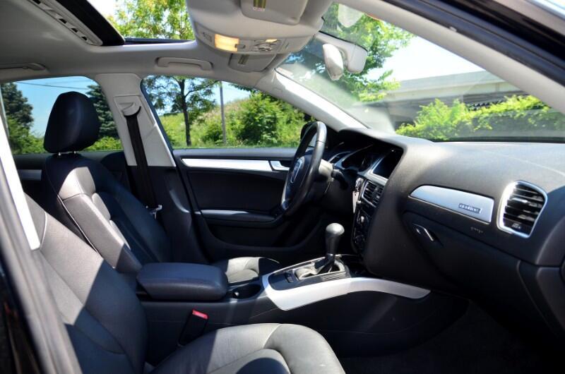 2012 Audi A4 2.0T Sedan quattro Tiptronic