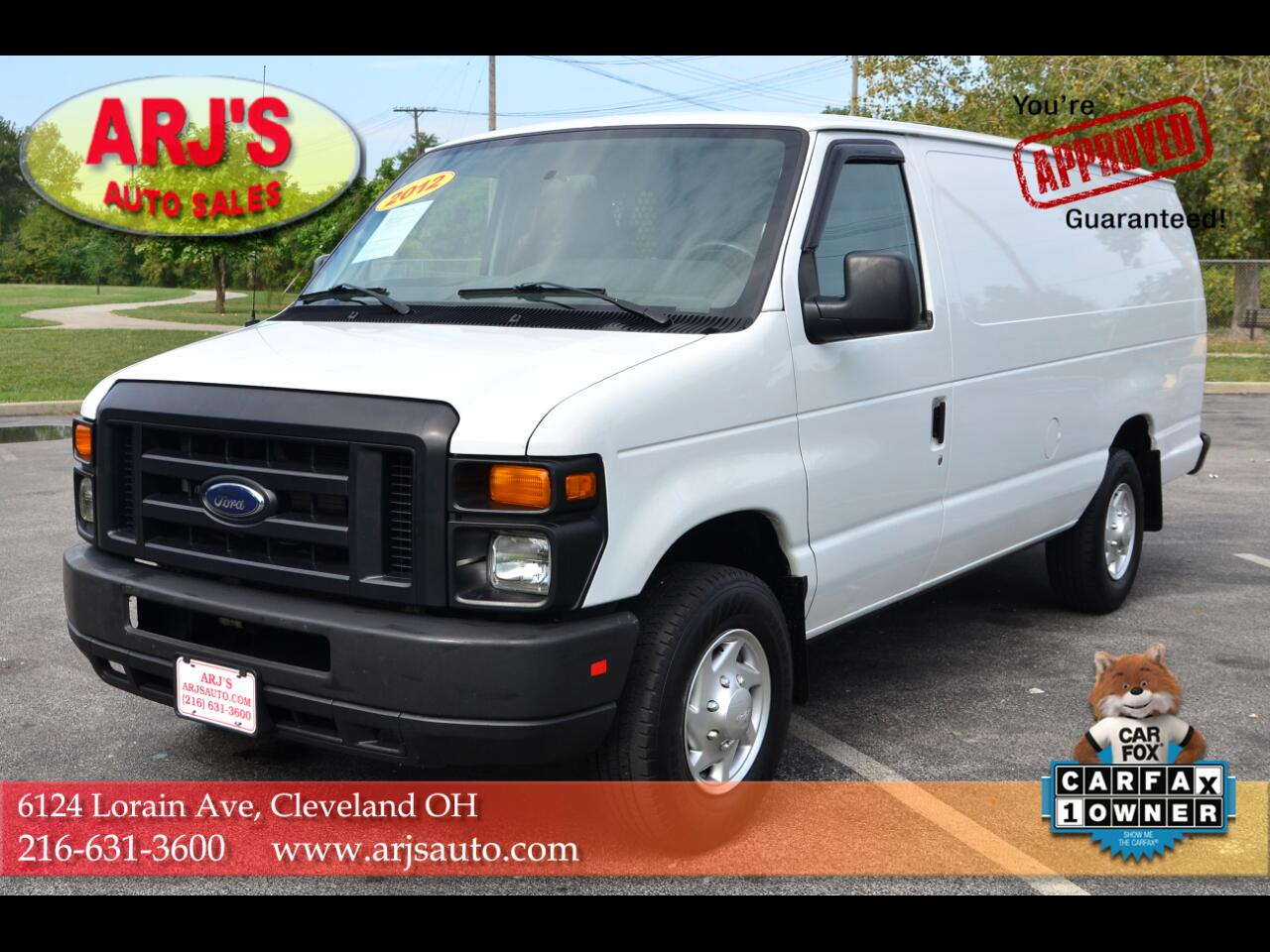 Ford Econoline E-250 Ext Commercial 2012