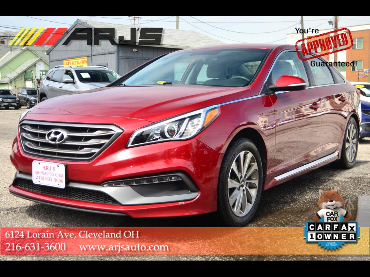Hyundai Sonata 4dr Sdn 2.4L Sport 2016
