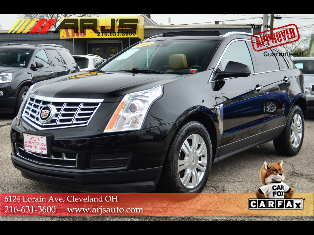 Cadillac SRX AWD 4dr Luxury Collection 2014