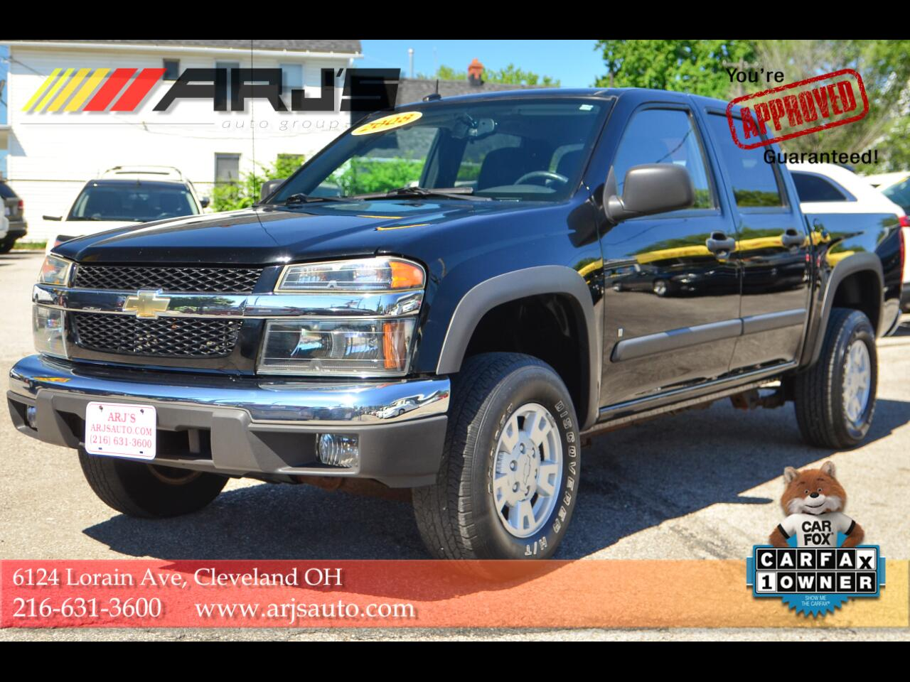 "Chevrolet Colorado 4WD Crew Cab 126.0"" LT w/1LT 2008"