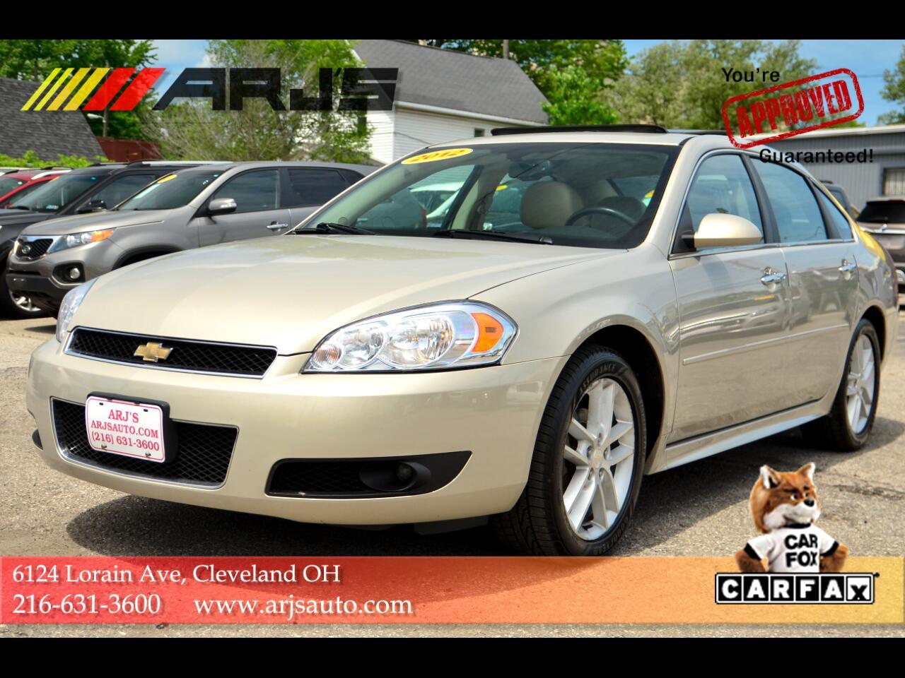 Chevrolet Impala 4dr Sdn LTZ 2012