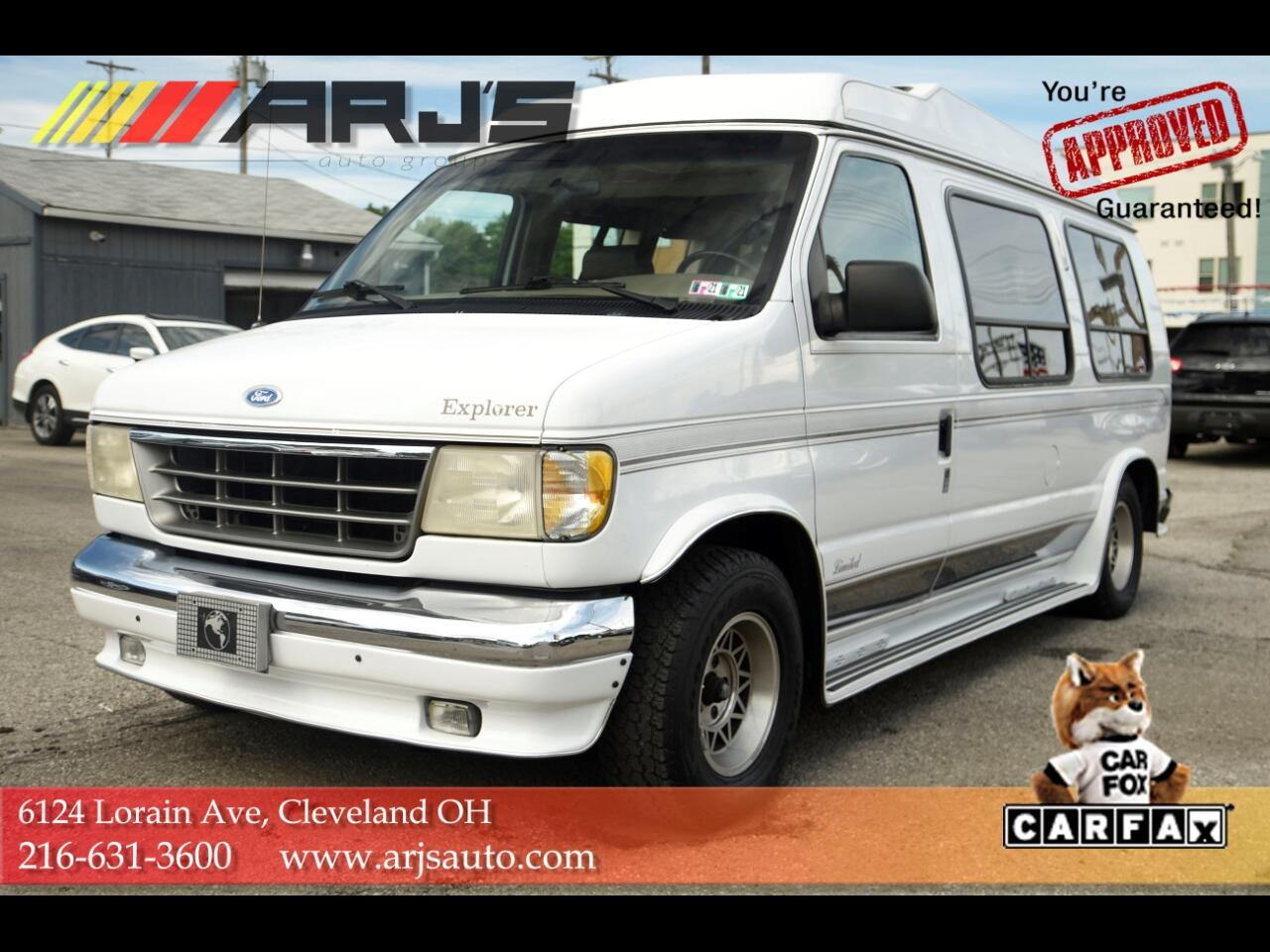 "Ford Econoline Cargo Van E-150 138"" WB 1995"