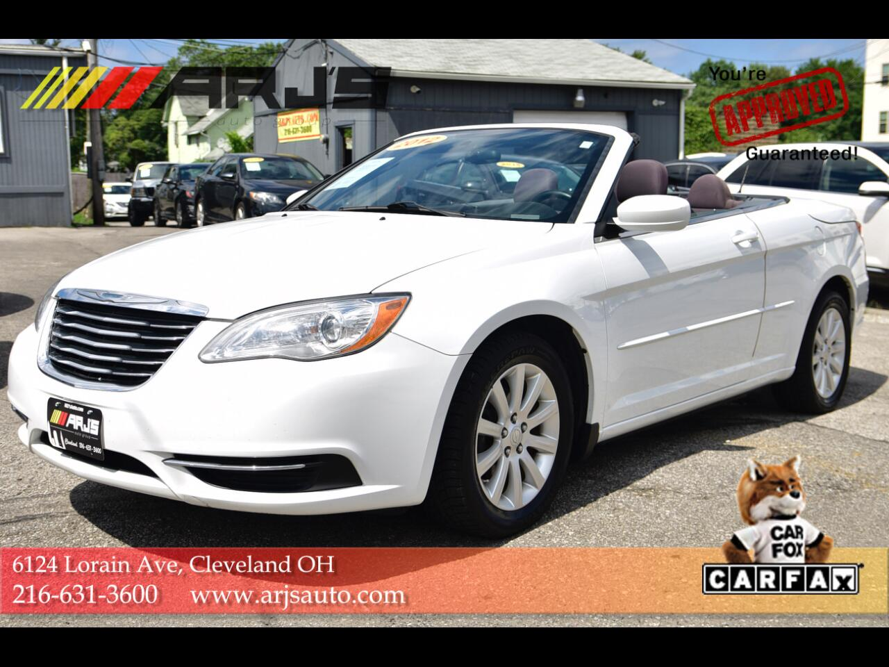 Chrysler 200 2dr Conv Touring 2012