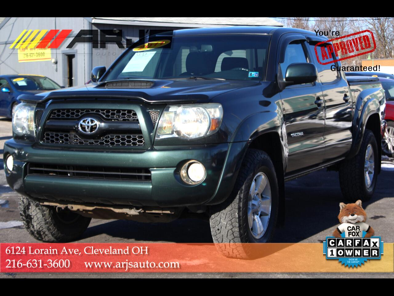 Toyota Tacoma 4WD Double V6 MT (Natl) 2011